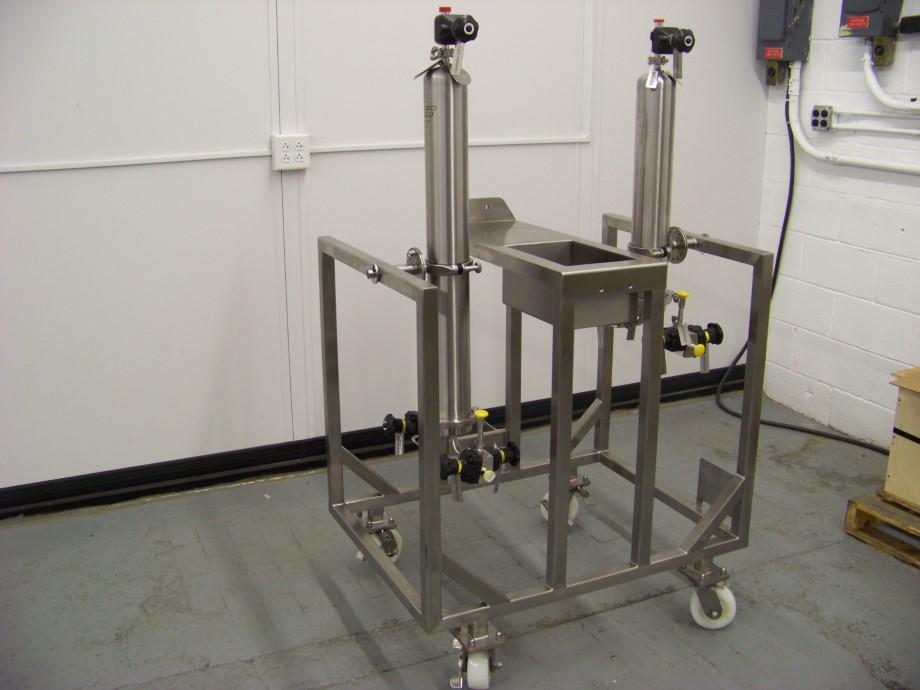 Custom Process Cart